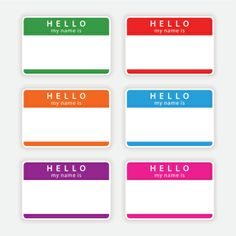 11 Best Hello My Name Images Is Names