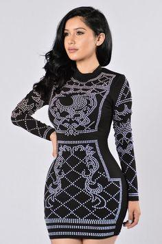 Royalty Dress - Black