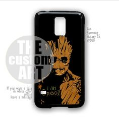 Guardian of The Galaxy I Am Groot - For Samsung Galaxy S5 i9600 | TheCustomArt - Accessories on ArtFire