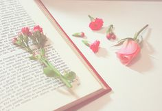 books and flowers: by flickr user tatiana pezzin