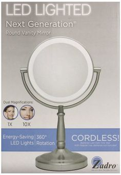 Our Around The Neck Adjustable Hands Free Mirror Has A 6