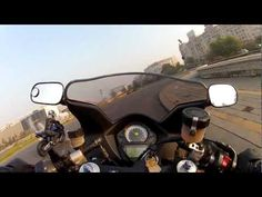 Honda 1000 RR & Suzuki SV 1000s - bikes riding in Bucharest (GoPro HERO2)