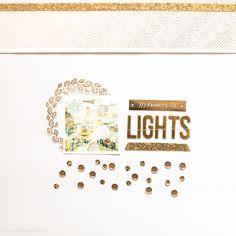 Lights by Veera #Scrapbooking