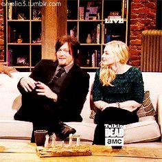 "Norman e Emily no Talking Dead de ""Still"""
