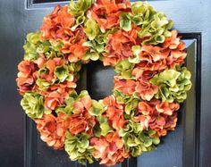 Thanksgiving Decor Thanksgiving Wreath Berry Fall by ElegantWreath