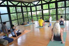 Teaching the 5 Tibetan Rites #Yoga #Classes #yourzenyoga #Langostabeachclub #CostaRica