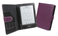 Cover-Up Kobo eReader Touch Edition Cover Case (Book Style) - Purple by Cover-Up. $24.99. A stylish purple (lilac) cover made from high quality animal friendly synthetic leather to protect your Kobo eReader Touch Edition. The lightweight case is contoured to perfectly fit the  Kobo's smooth, rounded edges.  You can read with the cover on and can easily access  Kobo's navigation features and power switch, while still enjoying a perfect fit in your hands. Useful features in...