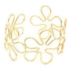 Flower Upper Arm Cuff / AZMIAB037-GLD Arras Creations http://www.amazon.com/dp/B015M63DR8/ref=cm_sw_r_pi_dp_--zdwb1PY527A