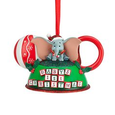 They didn't have this last year, can I get it even though it's not his first Christmas this year?  Dumbo - Baby's First Christmas Ear Hat Ornament | Ornaments | Disney Store