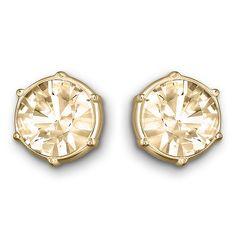 Swarovski - Typical Golden Shadow Stud Earrings | Peter's of Kensington