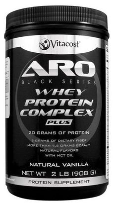 yummy alert-->ARO-Vitacost Whey Protein Complex PLUS Natural Chocolate 30 Grams Of Protein, Pure Protein, Protein Supplements, Protein Foods, Whey Protein Isolate, Good Manufacturing Practice, Bodybuilding Diet, Mct Oil, Sports Nutrition