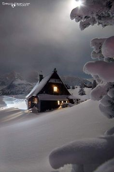 New Nature Winter Wonderland Snow Scenes 62 Ideas Winter Szenen, I Love Winter, Winter Magic, Winter Night, Winter House, Winter Time, Beautiful World, Beautiful Places, Snow Scenes