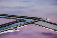 Beautifully colorful aerial shots of purple salt ponds in the San Francisco bay area are captured by photographer Julieanne Kost. Photography Courses, Aerial Photography, Video Photography, Digital Photography, Color Photography, Cool Pictures, Cool Photos, Amazing Photos, Colossal Art