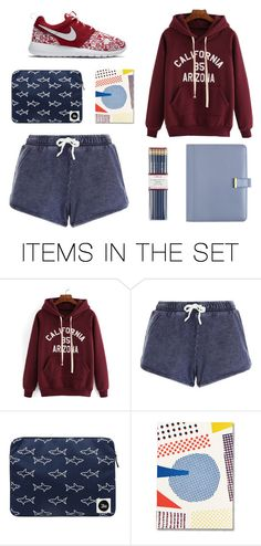 """""""Set for School"""" by springodigbo ❤ liked on Polyvore featuring art"""