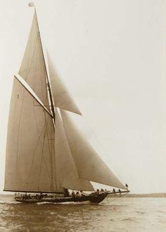 Frank William Beken - Britannia during the 1920s.