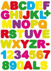 Alfabetet  http://www.barndekor.se/products/wallstickers-alfabetet-ws0224