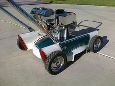 Custom lawnmower by Mark Moriarty