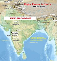 Purvanchal Himalayas Ranges India Map Ias Study Material Study
