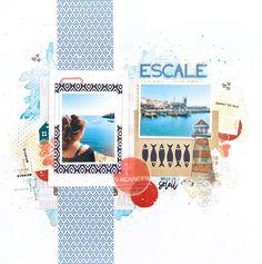 Mini Albums, Scrapbooking, Europe, Kit, Tours, Crafts, Pattern Paper, Paper Strips, Manualidades