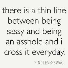 Street Style Store, Single Swag, Thin Line, Humor, Life, Humour, Funny Photos, Funny Humor