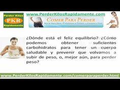 Comer Para Perder Isabel de los Rios: Los Carbohidratos en tu Dieta - WHATCH THE VIDEO HERE:  - http://www.how-lose-weight-fast.co/videos/comer-para-perder-isabel-de-los-rios-los-carbohidratos-en-tu-dieta/ -