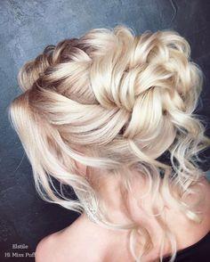 Long Wedding Hairstyles from Elstile / http://www.himisspuff.com/long-wedding-hairstyles-from-elstile/18/