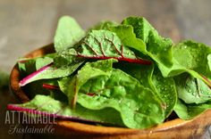 Swiss chard is beautiful. Really, really beautiful. So it makes a great addition to flower beds, making for an edible flower garden that will sneak past your homeowners association.