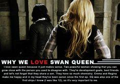 We believe that Swan Queen is Endgame!