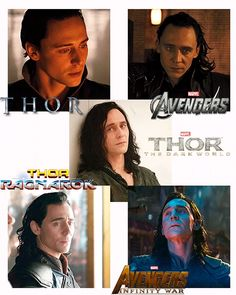 HIS CONTRACT SAID FIVE FILMS AND THESE ARE THE FIVE FILMS AND THEN WE SHALL NOT HAVE ANY MORE LOKI NOOOO