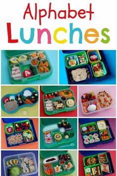 My Food Alphabet &; Themed Bento Lunches My Food Alphabet &; Themed Bento Lunches Mica Alijandra Lunch Time Complete Set of 26 Alphabet Themed Bento School […] lunch for school Bento Box Lunch For Kids, Kids Lunch For School, Lunch Snacks, Bento Kids, Lunch Menu, Lunch Boxes, Healthy Sweet Snacks, Nutritious Snacks, Healthy Kids