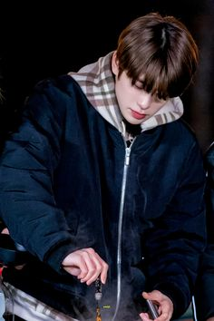 Korean Boys Ulzzang, Boyfriend Pictures, Jung Yoon, Valentines For Boys, Jung Jaehyun, Jaehyun Nct, Blue Moon, Dimples, Boyfriend Material