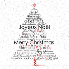 Do you want to create your own Christmas cards this year? Are you looking for some new languages or new words to wish you a merry Christmas? Read on to get creative in your glad tidings and good cheer! Christmas Images Clip Art, Christmas Pictures Free, Merry Christmas Images Free, Merry Christmas Quotes, Xmas Greeting Cards, Merry Christmas Greetings, Christmas Wishes, Christmas World, Christmas Holidays
