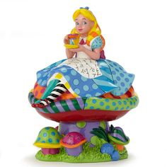 ✿ DISNEY Romero Britto Figurine Alice in Wonderland