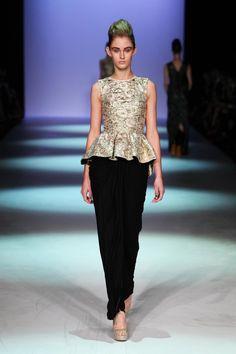Toni Maticevski Australian Fashion Shows S/S2012/13 tonimaticevski.com