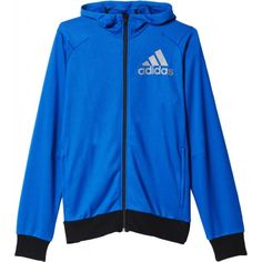 Buy men's hoodies & men's sweaters for casual wear or training, from top brands at great prices. Full Zip Hoodie, Adidas Men, Casual Wear, Adidas Jacket, Hooded Jacket, Men Sweater, Hoodies, Sports, Sweaters