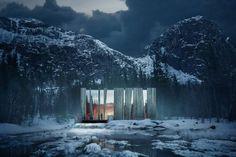 Ovre Forsland, a világ egyik legszebb vízerőműve. Tervező: Stein Hamre…