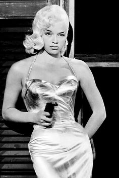 Diana Dors in a publicity photo for The Unholy Wife (1957)