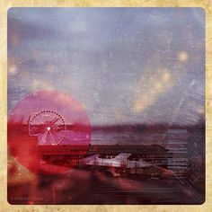 Seattle Great Wheel #abstract #appstract #gelo @picfx #mobilephotography #photoshopweek #iphoneography, via Flickr.