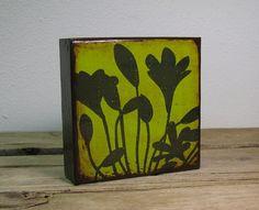 Floral Art Block--MatchBlox