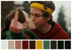 Pin for Later: The Best Movie Kisses of All Time Juno Juno (Ellen Page) brings her usual charm to a kiss with Paulie (Michael Cera). Teen Movies, Indie Movies, Ellen Page, George Clooney, Jennifer Garner, I Love Cinema, Kiss Him Not Me, Jason Reitman, Movie Kisses