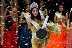Maria Rahajeng Miss Indonésia World 2014