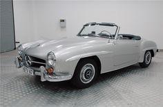 Florida car, older frame-up restoration. All original parts. Car originally was dark gray, painted silver. $110,000