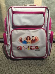 Spice Girls Backpack Vintage 1999