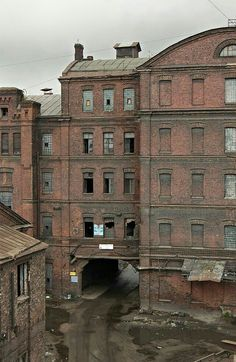 Abandoned Textile Factory/Mill in the South of London