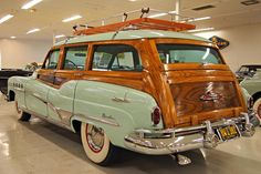 1951 Buick Roadmaster Woodie Station Wagon by Jack Snell