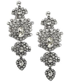 Givenchy chandelier earrings.