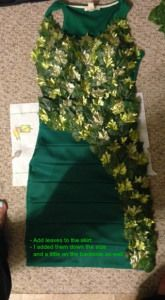 DIY Poison Ivy Costume @ Fcnextdoor.com