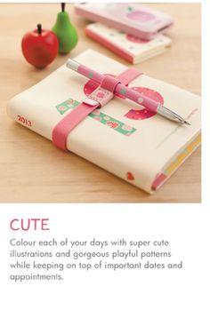 2013 Diaries & Calendars | kikki.K Stationery & Gifts