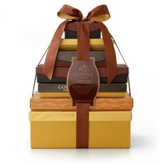 Chocolate Extravagance Gift Tower - http://www.specialdaysgift.com/chocolate-extravagance-gift-tower/