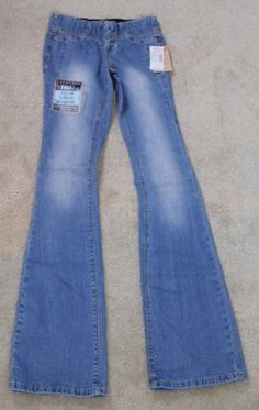 Amethyst-Light-Wash-Yoga-Inspired-Stretch-Waist-Pull-On-Bootcut-Jeans-D1-47
